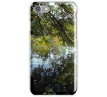 Quiet by the lake iPhone Case/Skin