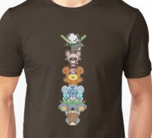 Bear Totem Pole Unisex T-Shirt