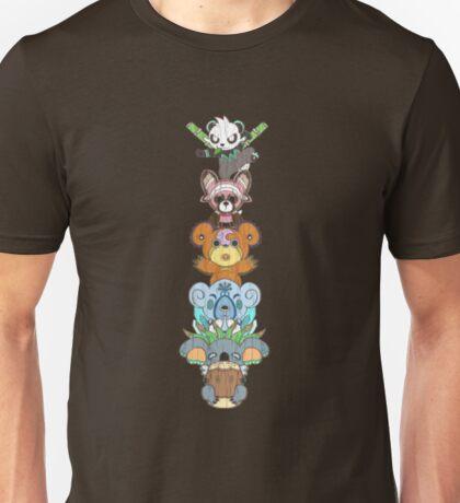 Bear Totem Pole Unisex T-Shirt