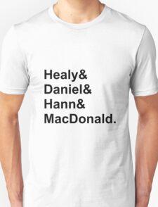 The 1975 Names Unisex T-Shirt