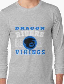 How to train you Dragon (Dragon Riders White) Long Sleeve T-Shirt