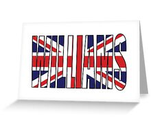 Williams (UK) Greeting Card