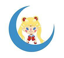 Sailor Moon Chibi by SallyJanuary