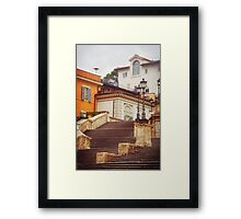 Spanish Steps Framed Print