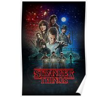 Stranger Things Promo Art Poster