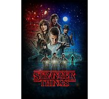 Stranger Things Promo Art Photographic Print
