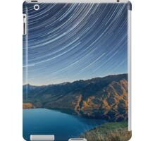 Lake Hawea startrails 1 iPad Case/Skin