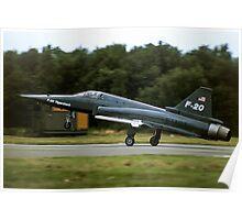 Northrop F-20A 82-0062 N4416T Poster