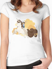 Espresso Tina Women's Fitted Scoop T-Shirt