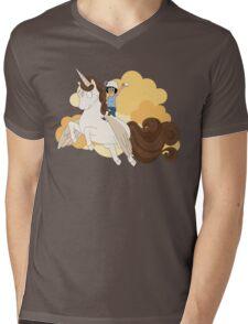 Espresso Tina Mens V-Neck T-Shirt