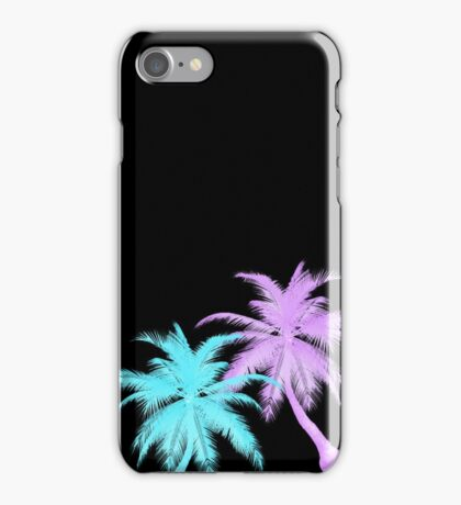 Neon Palmtrees iPhone Case/Skin
