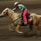 Rodeo Riding A Hurricane by Bob Christopher
