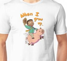 When I grow up by VIXTOPHER Unisex T-Shirt