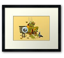 Day Out with Grandpa Framed Print