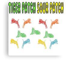 tiger patch sour patch Canvas Print
