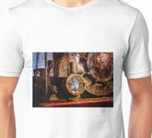 Vintage steam train floodlight Unisex T-Shirt