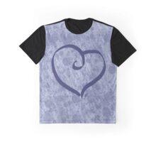 Splattery Heart Graphic T-Shirt