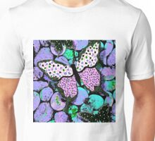 Butterflies and Polka Dots Unisex T-Shirt