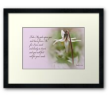 Rest ~ Matthew 11:29 Framed Print