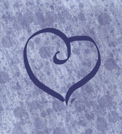 Splattery Heart Sticker