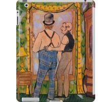 Comforting Mr. Jago iPad Case/Skin