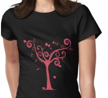 Tree of Love  T-Shirt Womens Fitted T-Shirt