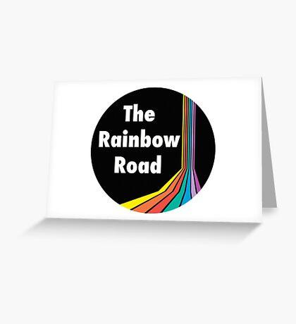 The Rainbow Road Greeting Card