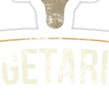 Vegetarian Live Let Live Sticker