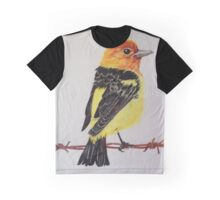 Western Tanager Graphic T-Shirt