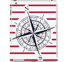 bigger compass iPad Case/Skin
