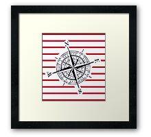 bigger compass Framed Print
