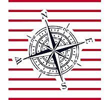 bigger compass Photographic Print
