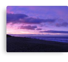 blue{?} skies after the storm Canvas Print