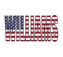 Williams (USA) Photographic Print