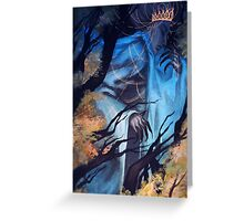 Forest Deity Greeting Card
