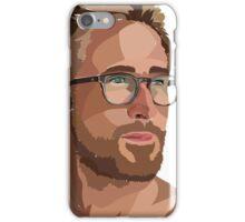Ryan Gosling Illustrator Cartoon iPhone Case/Skin