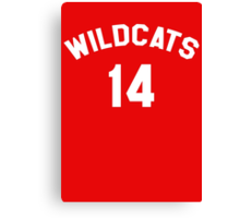 High School Musical: Wildcats Canvas Print