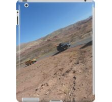 Atlas travel caravan 2 desert tablet iPad Case/Skin