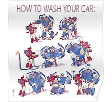How to wash your car Poster