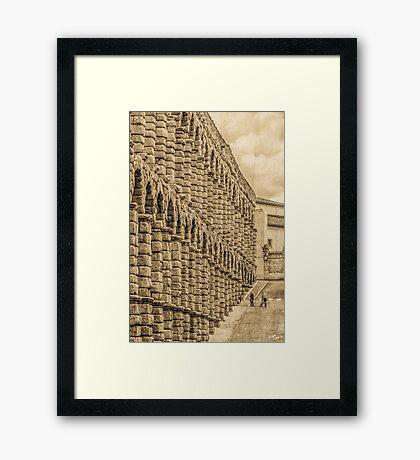 Aqueduct of Segovia Framed Print