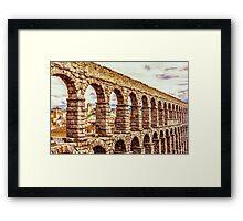 Aqueduct Framed Print