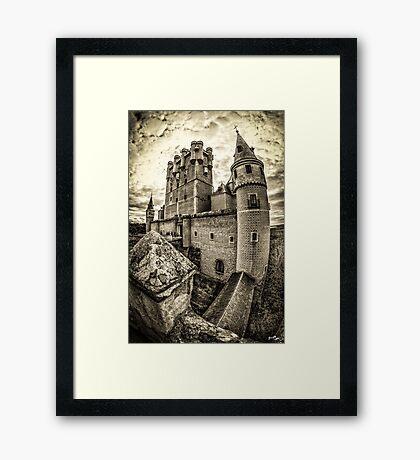 Alcázar of Segovia Framed Print