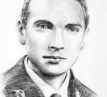 Pier Paolo Bergamini portrait by Francesca Romana Brogani