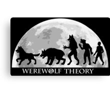 Werewolf Theory: The Change Canvas Print
