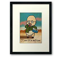 Baby Heisenberg Framed Print