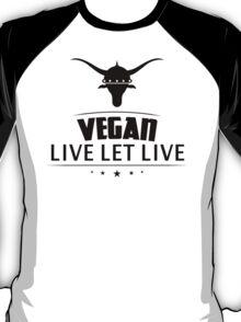 Vegan Live Let Live T-Shirt