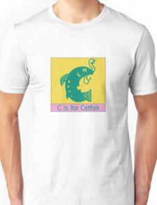 Catfish Animal Alphabet Unisex T-Shirt