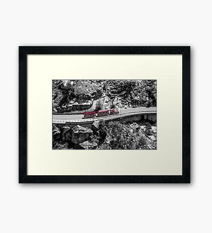 Train of Fun Framed Print