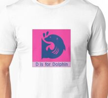 Dolphin Animal Alphabet Unisex T-Shirt
