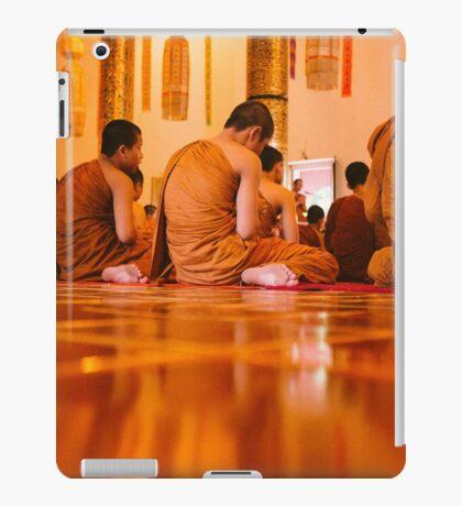 Monks in Thailand  iPad Case/Skin